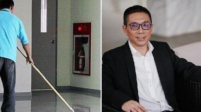 DIHINA Cuma Tukang Bersih WC dan Diputus Pacar, Kini Bos dengan 3000 Karyawan, Sang Mantan Menyesal