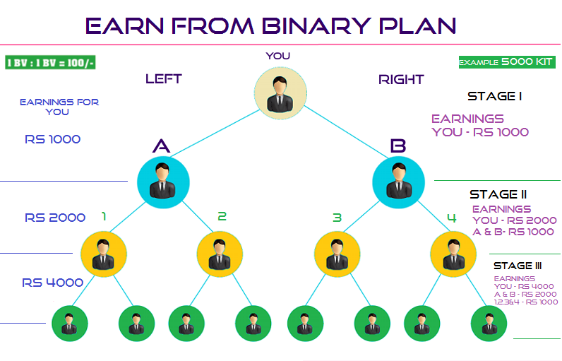 What is binary earning