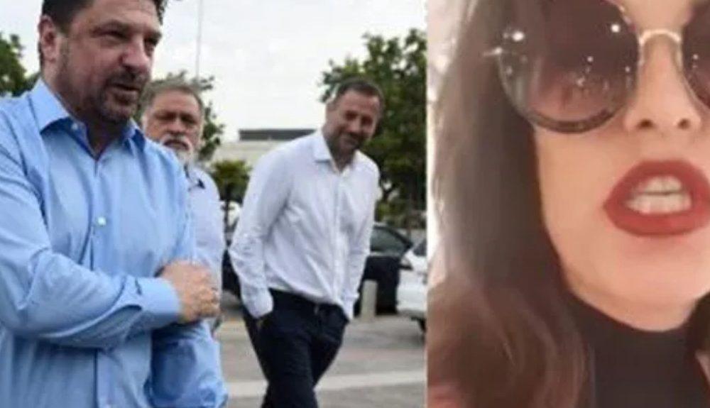 Γυναίκα μπουγέλωσε τον Χαρδαλιά στη Θεσσαλονίκη και συνελήφθη