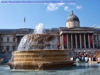 Fachada principal de la National Gallery desde Trafalgar Square