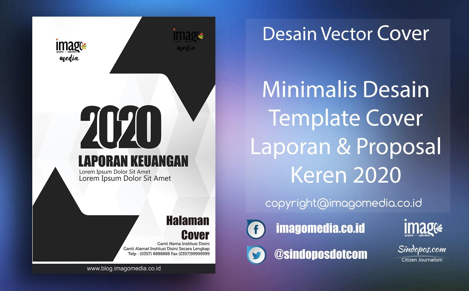 Download Minimalis Desain Template Cover Laporan Dan Proposal Keren 2020 Imago Media Home Of Creativity