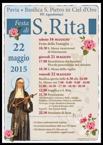 Santa Rita Giorno Calendario.Santa Rita 2015 Seth