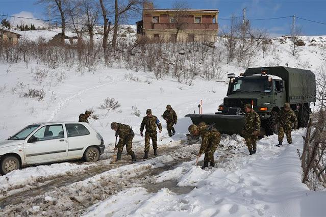 رجل يبلغ عن ارتكابه جريمة قتل حتى تزيل الشرطة الثلوج من أمام منزله