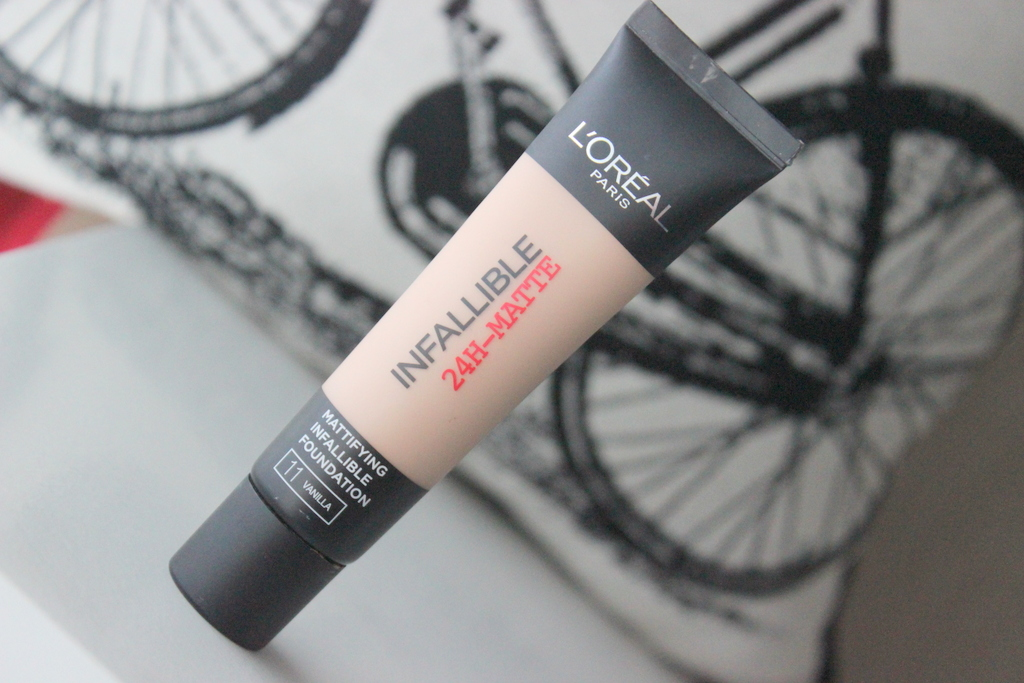 Loreal Infallible 24 Hour Matte Foundation Review Before After