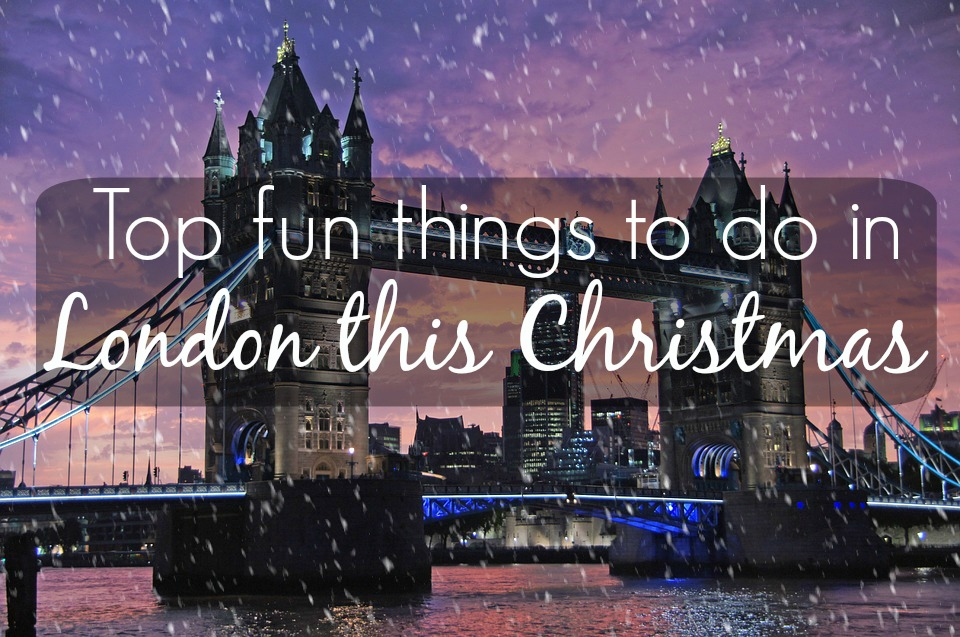 things to do in london christmas 2016