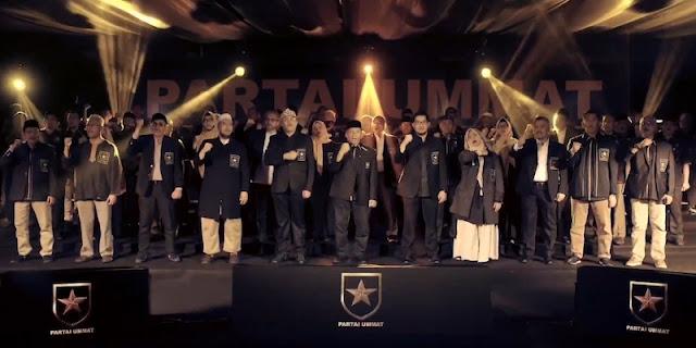 Partai Ummat Resmi Dideklarasikan, Amien Rais Jadi Ketua Majelis Syuro, Ridho Rahmadi Ketua Umum