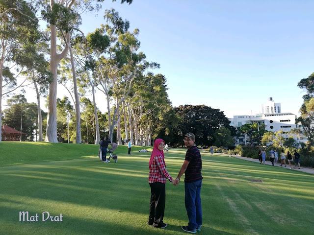 King Park & Botanic Garden Perth View
