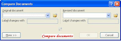 Compare documents