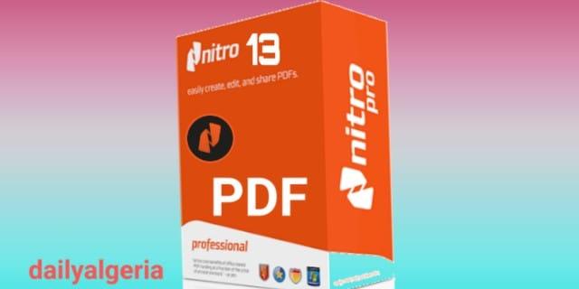 NitroProPDF -  Nitro Pro 2019 - PDF - تحميل نيترو برو Nitro Pro 2019