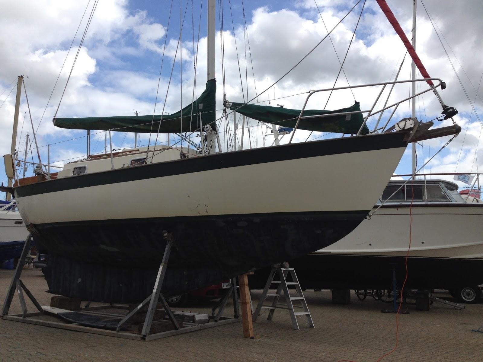 Bill's Log: Victoria Frances 28 Cruising Yacht
