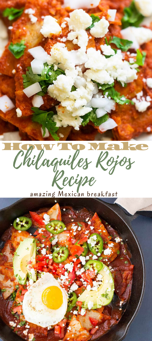 Chilaquiles Rojos Recipe #dinnerrecipe #food #amazingrecipe #easyrecipe