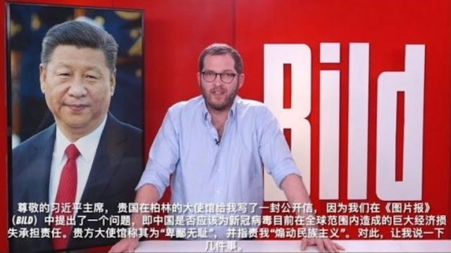Bild a Xi Jinping: Pensa a rafforzare Cina esportando COVID-19
