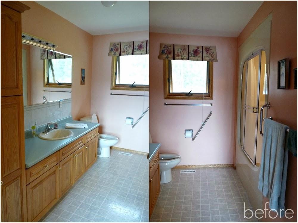 how to paint over dated ceramic tile dans le lakehouse. Black Bedroom Furniture Sets. Home Design Ideas