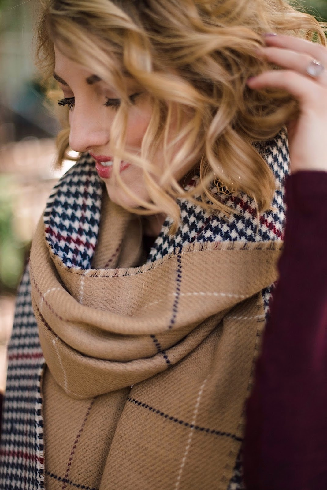 Reversible scarf - Something Delightful Blog