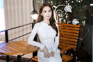 Ngọc Trinh hóa nữ sinh cấp 3 thướt tha trong tà áo dài trắng