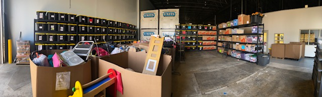 New GiveNKind warehouse in Buffalo Grove. Image credit Emily Petway.