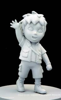 """pierre rouzier_Nickelodeon - """"diego"""" maquette"""