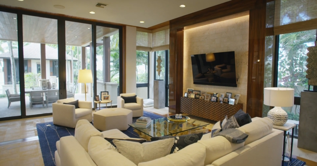 23 Interior Design Photos vs. 1780 S Ocean Blvd, Manalapan, FL Ultra Luxury Mansion Tour