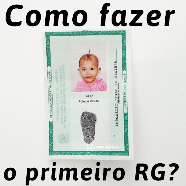 rg para bebes, como fazer rg, certidao de nascimento, cpf do bebe, documentos do bebe