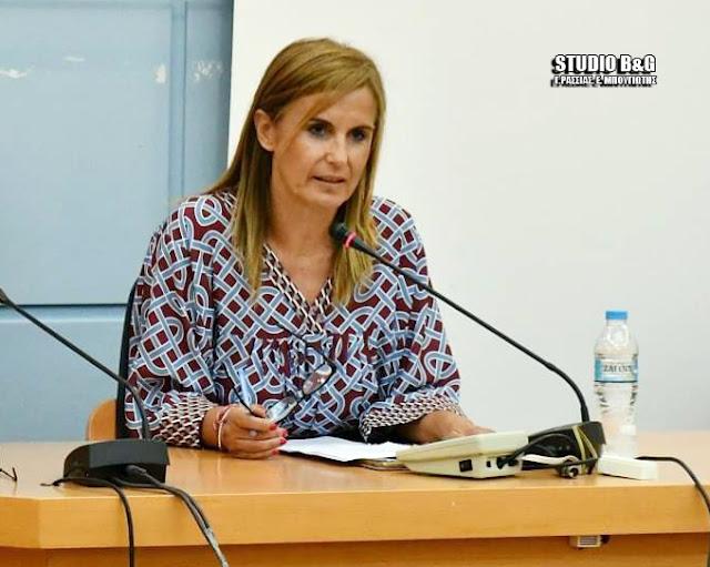 Μαρία Ράλλη: Συγκινητική η ανταπόκριση για εθελοντική συμμετοχή στις κοινωνικές δομές του Δ. Ναυπλιέων