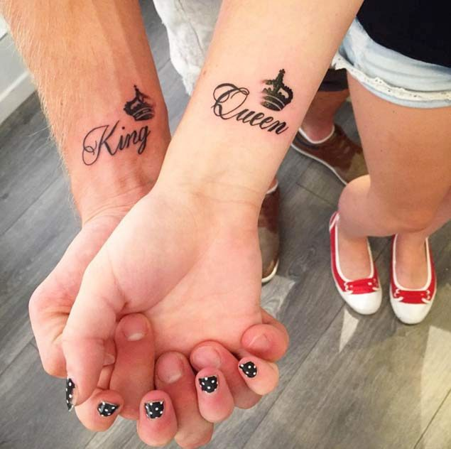 Couple Stream Love with Tattoo