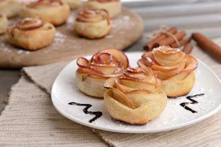 Bandelių su obuoliais receptas