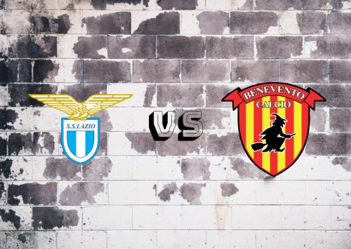 Lazio vs Benevento  Resumen