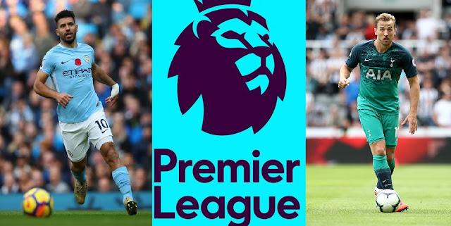 Jadwal Liga Inggris Pekan ke-2 : Big Match Manchester City vs Tottenham
