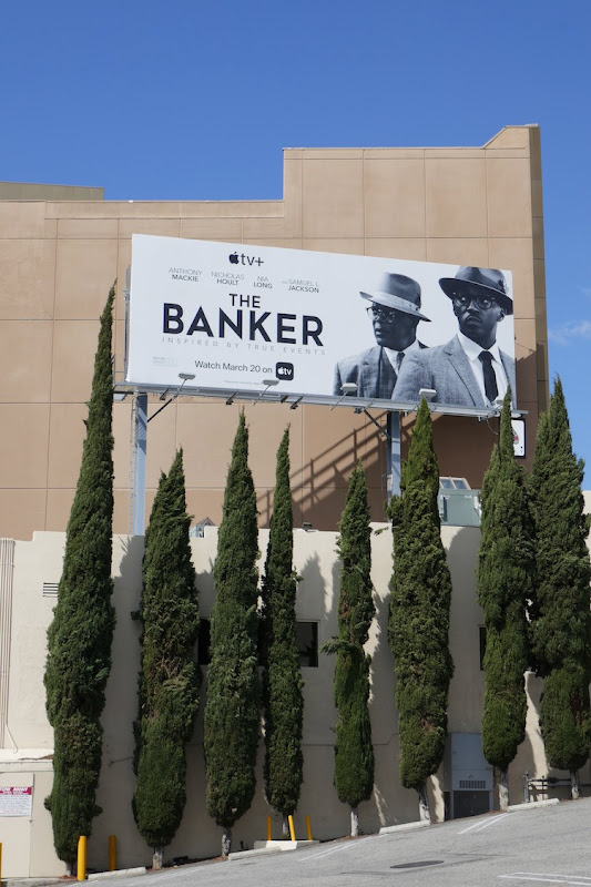 Banker movie billboard