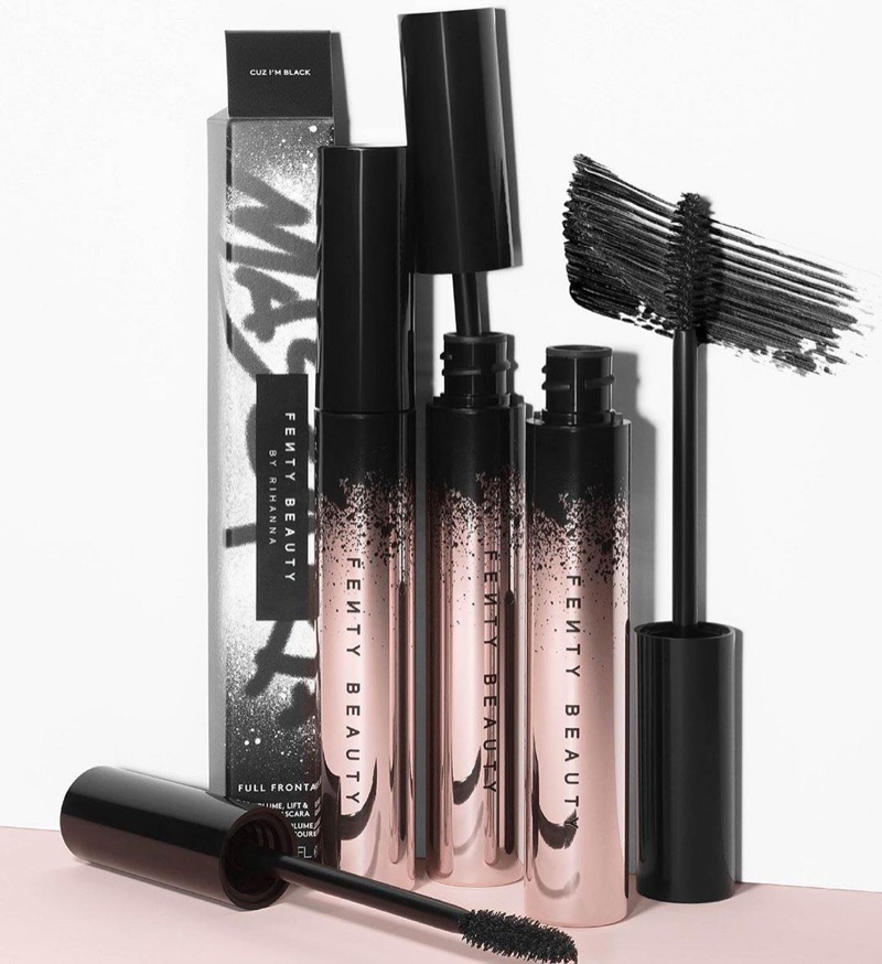 Fenty Beauty Full Frontal Mascara Campaign