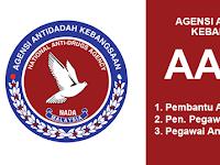 Jawatan Terbuka Agensi Anti Dadah Kebangsaan AADK