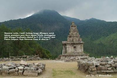 Candi Gedong Songo Wisata Kabupaten Semarang di Era Adaptasi Kebiasaan Baru