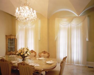 Design interior case apartamente-Perdele draperii living dormitor - Constanta