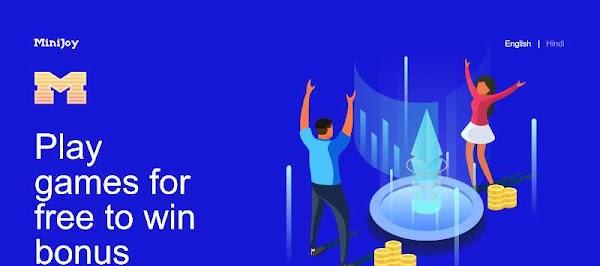 Minijoy app - play game and earn paytm cash