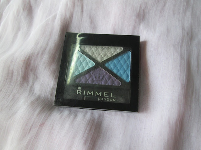 Rimmel London Glam Eyes Quad Eye Shadow-State of Grace Review, Swatches & EOTDs