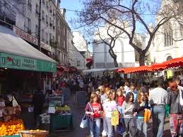 Rue Mouffetard Market