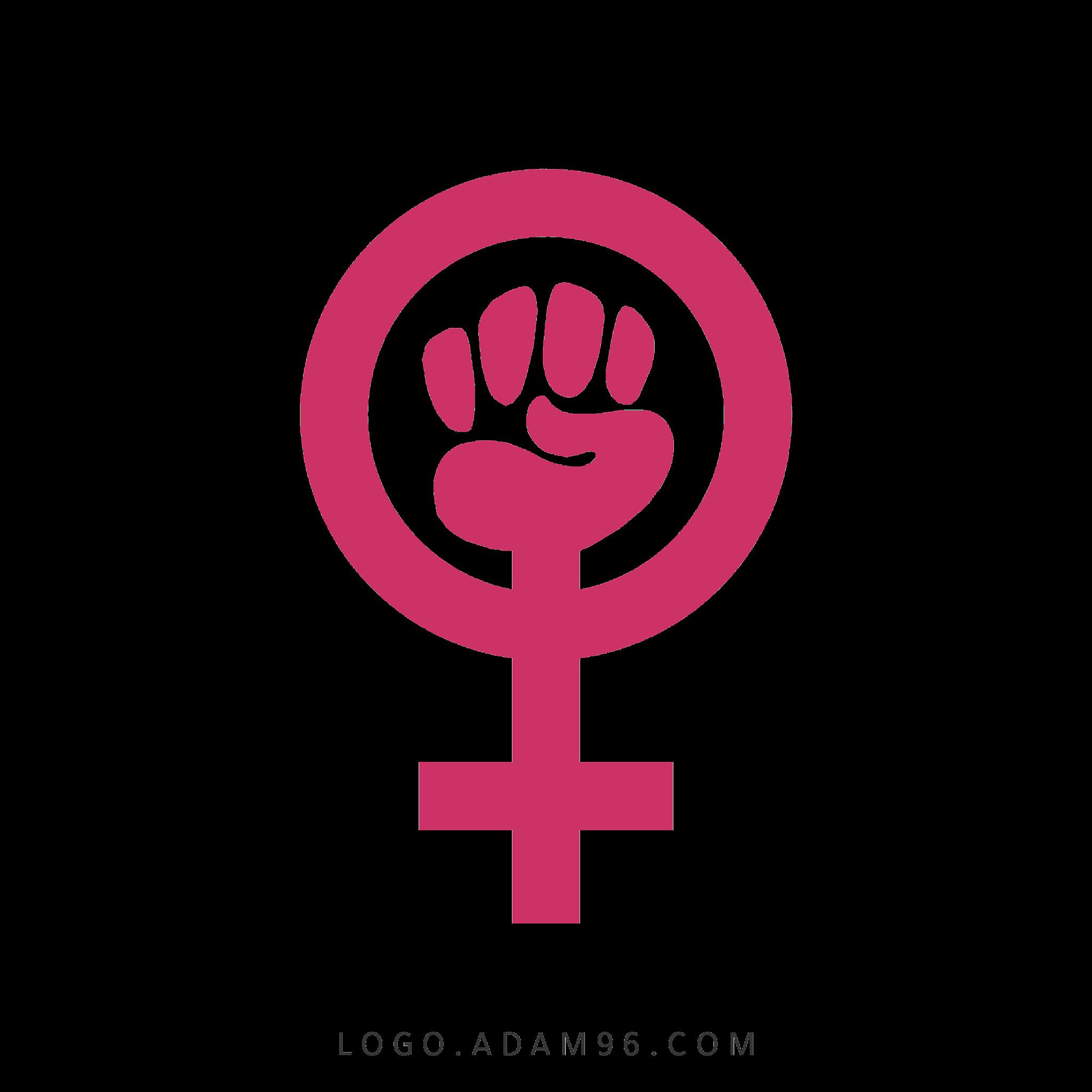 تحميل شعار النسويه | Feminist Logo PNG