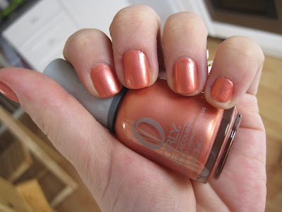 orly Peachy Parrot