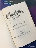 Charlotte's Web, by E. B. White, superimposed on Intermediate Physics for Medicine and Biology.
