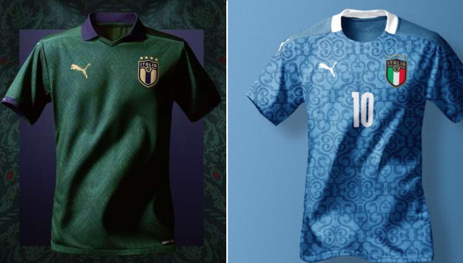 Italy Euro 2020 Home Kit (Puma)