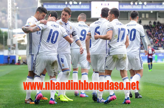 Eibar vs Real Madrid www.nhandinhbongdaso.net