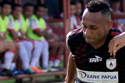 Pemain Terbaik Shopee Liga 1 Dalam Laga Pertandingan Sepakbola Persipura Jayapura Vs Persela Lamongan