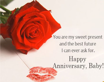 Romantic And Lovely Wedding Anniversary Message