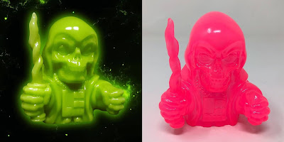 Phantom Starkiller Vinyl MaBa Slime & Plutonium Pink Editions by Killer Bootlegs