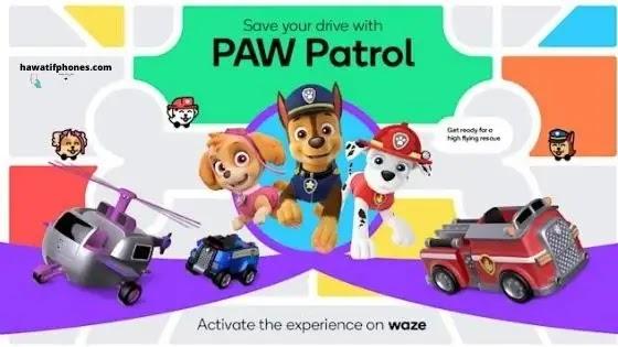 Waze : إبقاء أطفالك مشغولين في السيارة مع أصوات بات Patrouille