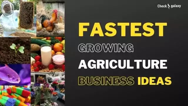 Fastest growing Agriculture Business