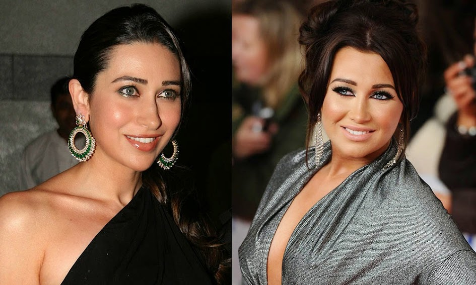 Lauren Goodger and Karishma Kapoor