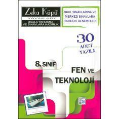 Zeka Küpü 8.Sınıf Fen ve Teknoloji Merkezi Sınavlara Hazırlık Denemeleri (2014)