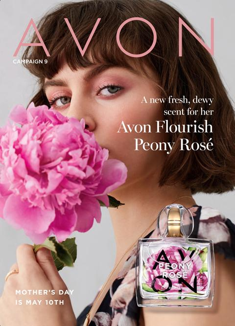 #Avon Campaign 9 2020 Online - Avon Flourish Peony Rose