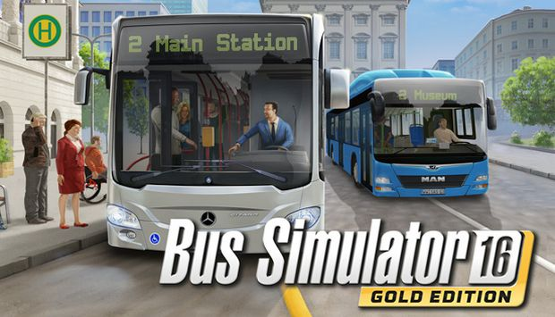BUS SIMULATOR 16 GOLD EDITION-Free Download